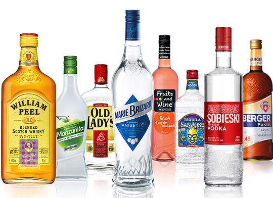 leading alcohol brands
