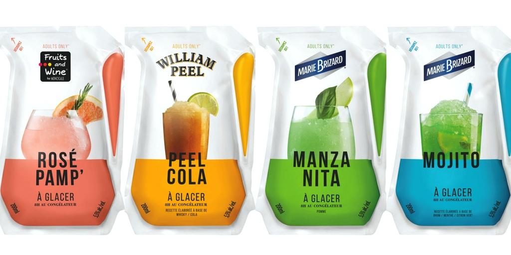 frozen cocktail pouches